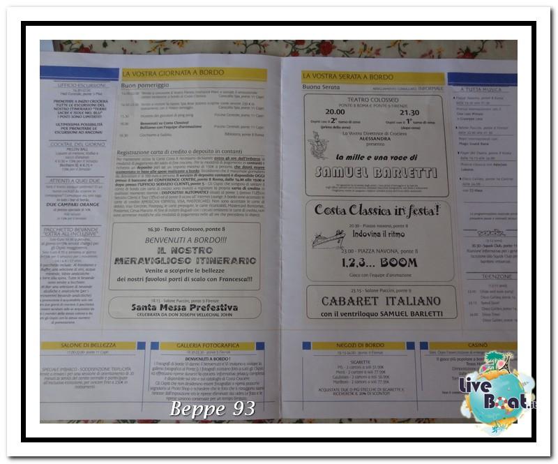 Costa Classica-Terre Sacre e Isole nel Blu-13/20 Luglio2013-dsc04433-today-trieste-imbarco-jpg