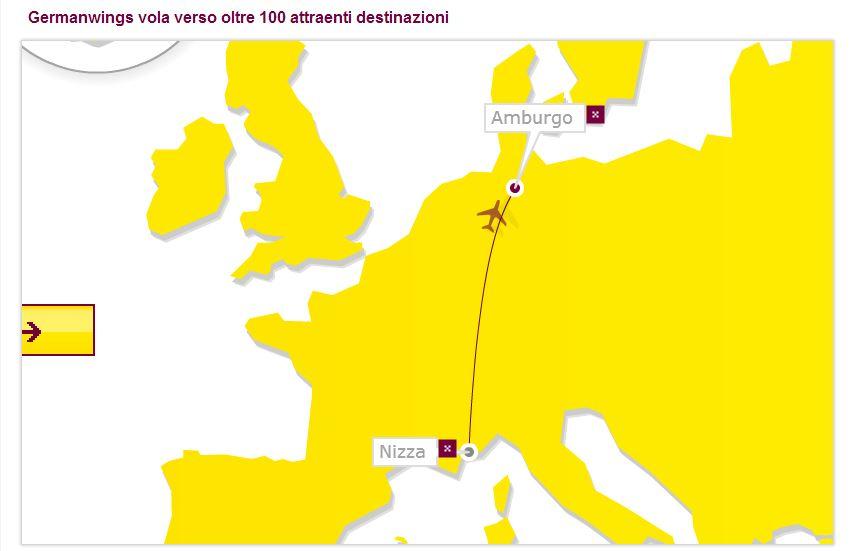 2013/09/23 Seatrade Partenza da Nizza per Amburgo-rotta-volo-jpg