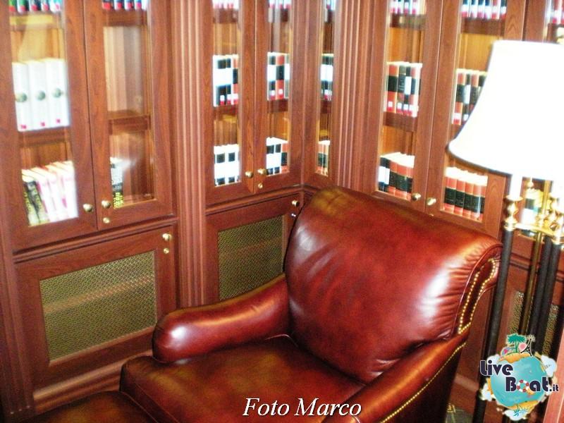 La biblioteca e l'internet point di Riviera-6foto-liveboat-riviera-oceania-jpg