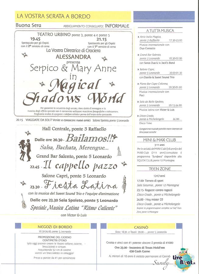 COSTA MAGICA - Cavalieri ed Eroi, 03/03/2013 - 14/03/2013-today_costa_magica_05-03-2013_03-jpg