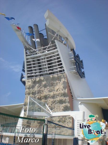 Arrampicata sul Rock climbing wall di Mariner ots-141foto-liveboat-mariner-ots-jpg