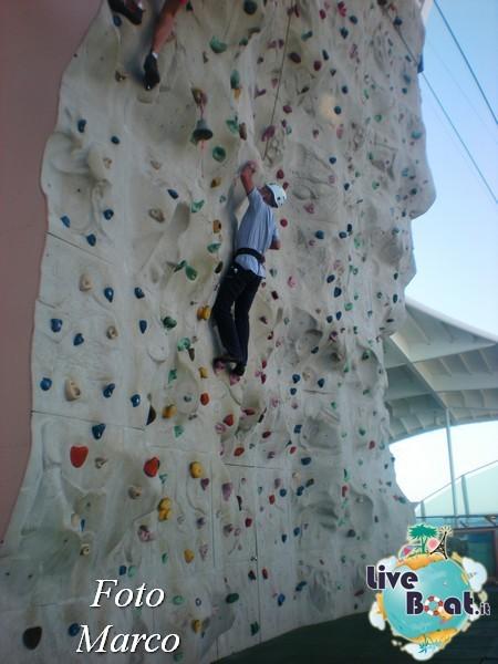 Arrampicata sul Rock climbing wall di Mariner ots-144foto-liveboat-mariner-ots-jpg