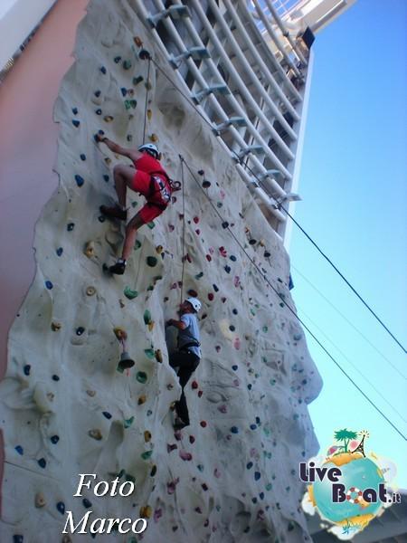 Arrampicata sul Rock climbing wall di Mariner ots-145foto-liveboat-mariner-ots-jpg
