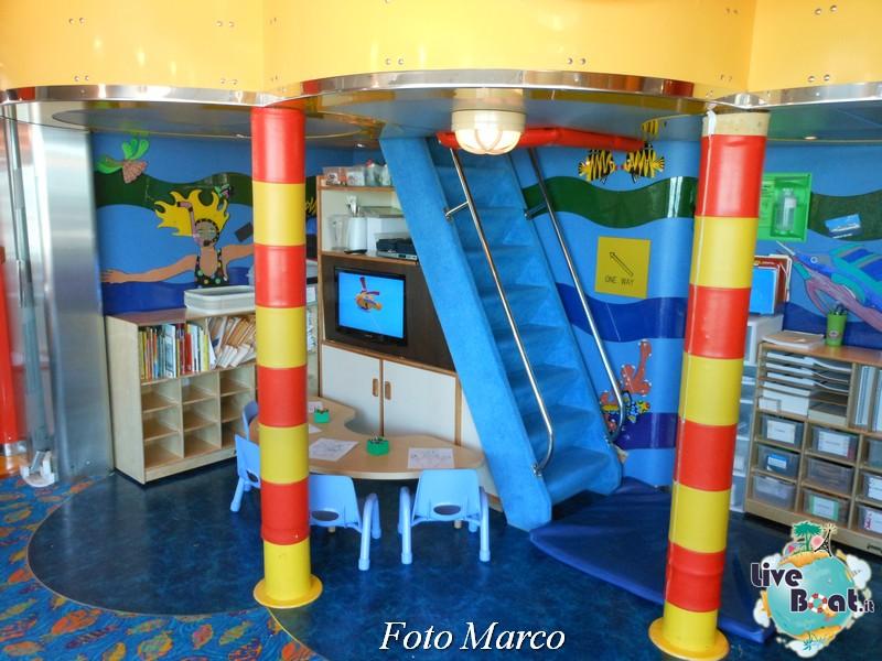 La zona bambini e teen di Grandeur OTS-203foto-liveboat-grandeur-ots-jpg