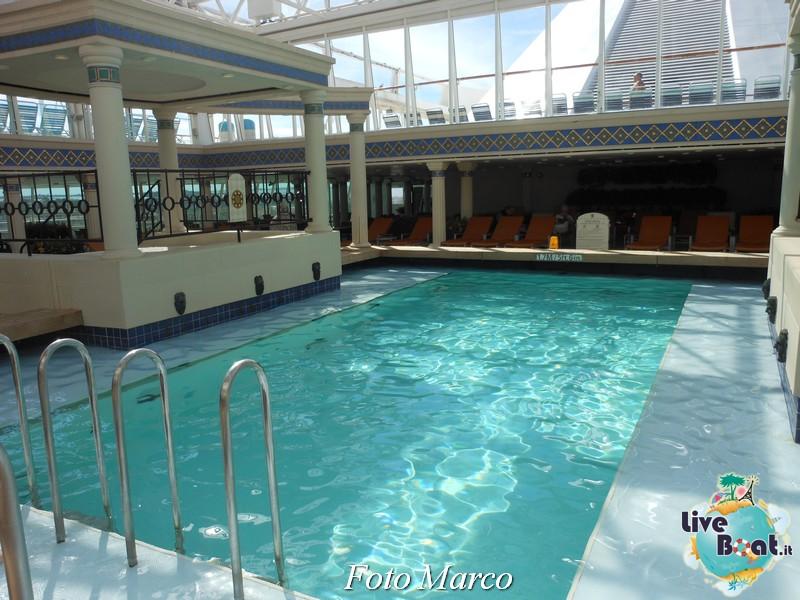La zona della piscina coperta di Grandeur OTS-153foto-liveboat-grandeur-ots-jpg