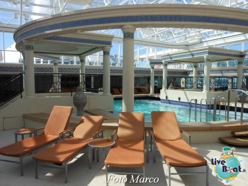 La zona della piscina coperta di Grandeur OTS-154foto-liveboat-grandeur-ots-jpg
