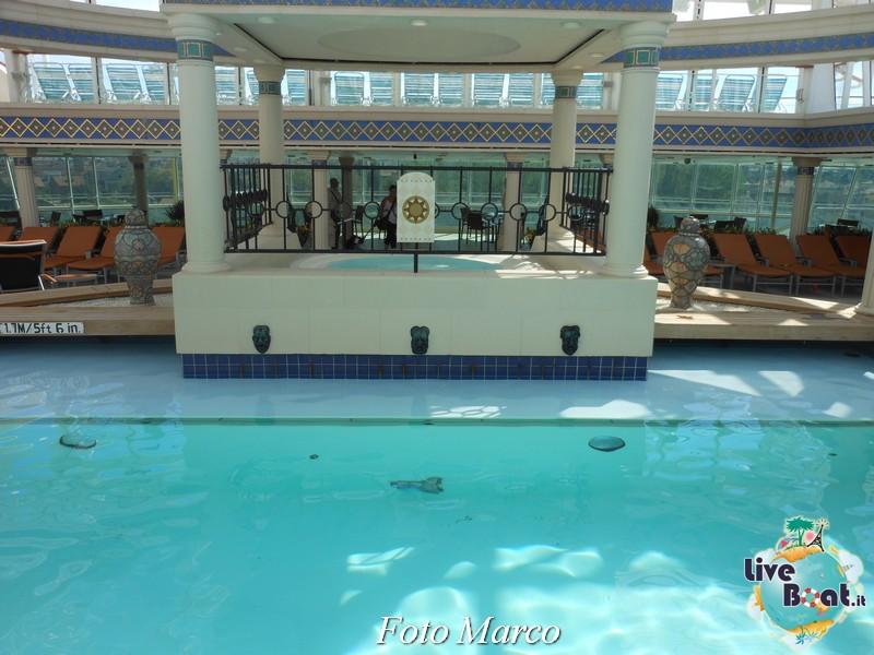 La zona della piscina coperta di Grandeur OTS-156foto-liveboat-grandeur-ots-jpg