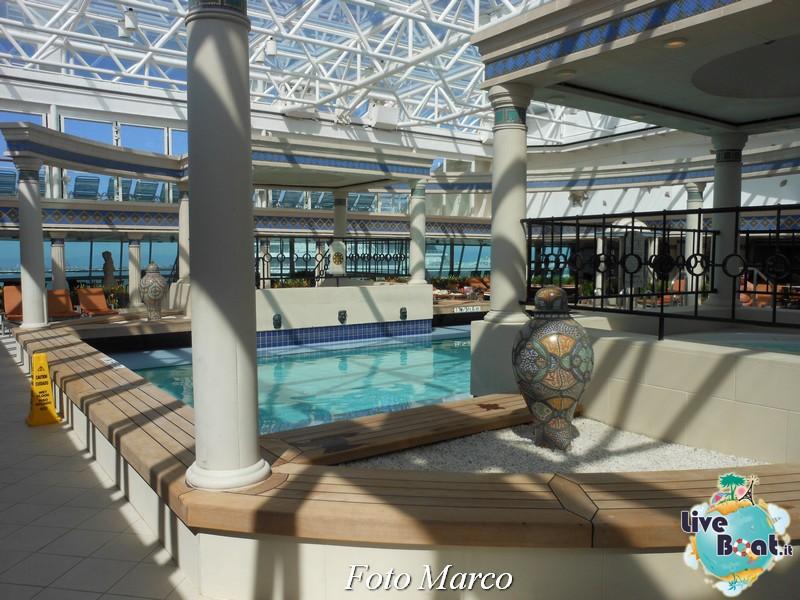 La zona della piscina coperta di Grandeur OTS-159foto-liveboat-grandeur-ots-jpg
