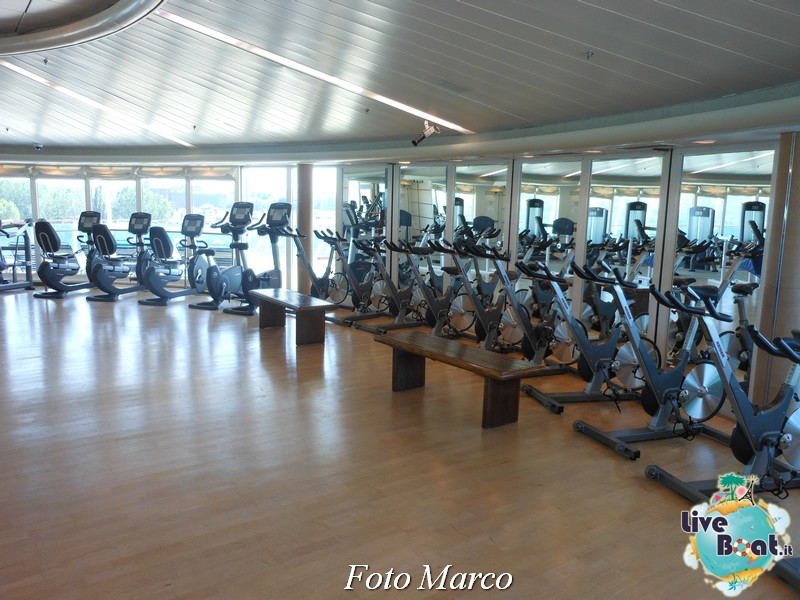 La zona fitness - spa di Grandeur OTS-180foto-liveboat-grandeur-ots-jpg