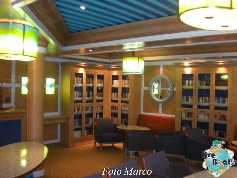 La biblioteca di Costa Favolosa-23foto-liveboat-costa-favolosa-jpg