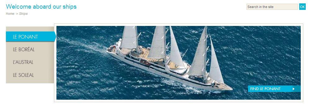 "2013/08/03 Veliero"" Le Ponant ""di Compagnie du Ponent-navi-cdp-jpg"