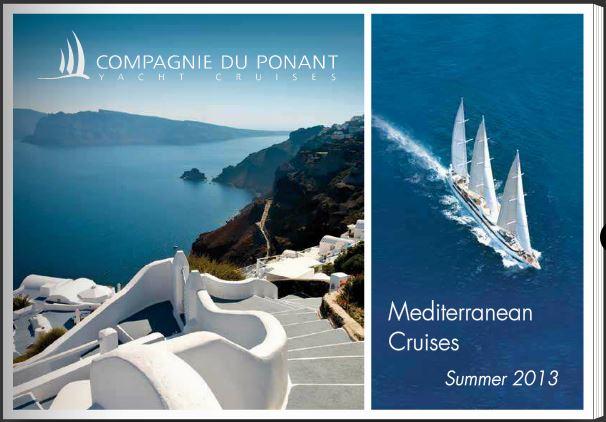"2013/08/03 Veliero"" Le Ponant ""di Compagnie du Ponent-brochure-mediterraneo-jpg"