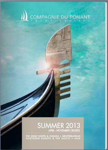 """2013/08/03 Veliero"""" Le Ponant """"di Compagnie du Ponent-brochure-estate-compagnie-du-ponent-jpg"""