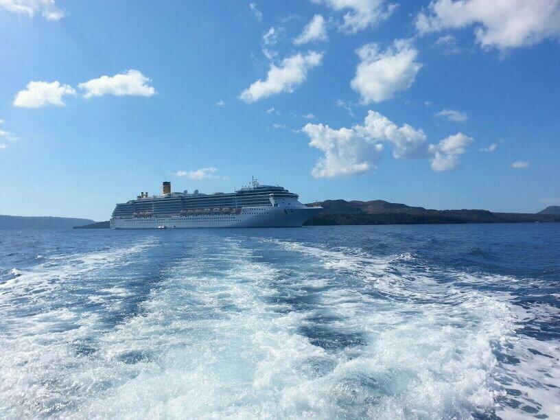2013/10/19 Santorini Costa Mediterranea-uploadfromtaptalk1382194197179-jpg