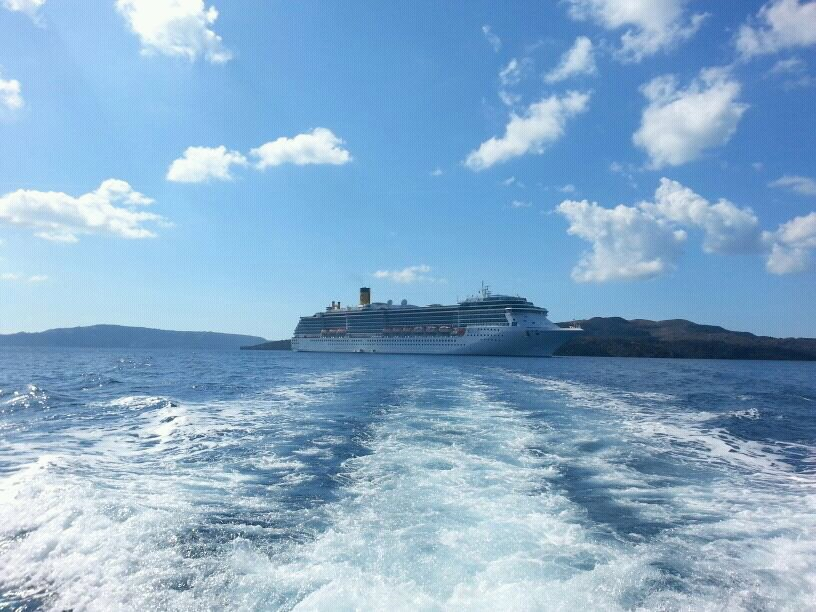 2013/10/19 Santorini Costa Mediterranea-uploadfromtaptalk1382194211029-jpg