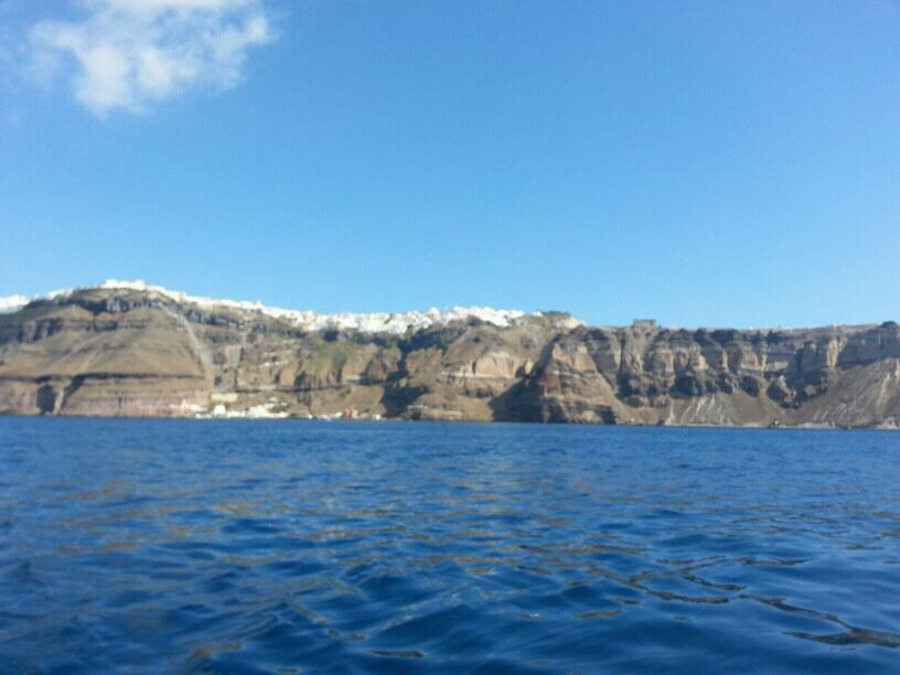 2013/10/19 Santorini Costa Mediterranea-uploadfromtaptalk1382194235231-jpg