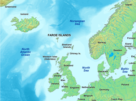 Cosa visitare a Klaksvik (Isole Faroe) -Danimarca--map_of_faroe_islands_europe-png