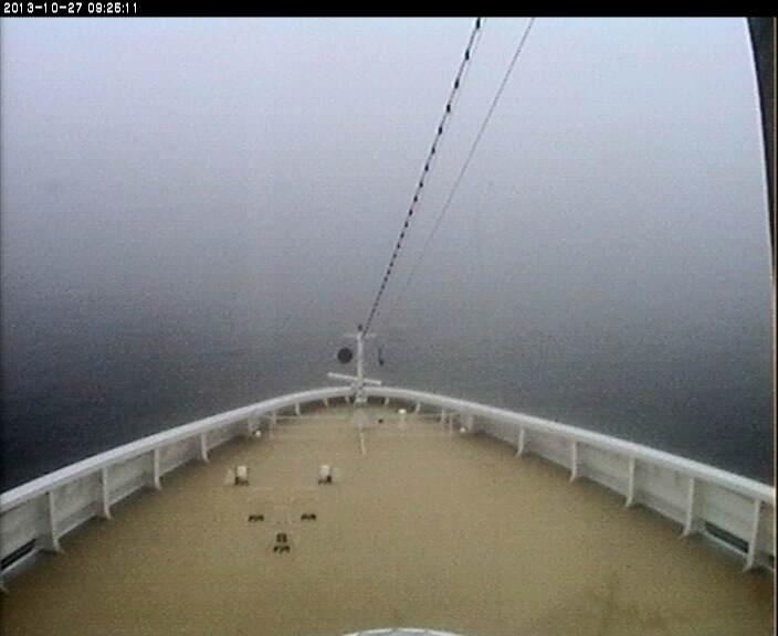 27/10/13 - Nebbia in Laguna , navi bloccate-web2-jpg