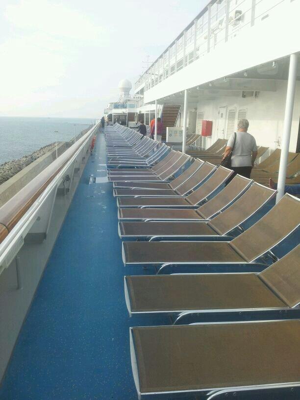 2013/10/30 Civitavecchia imbarco Costa Pacifica-uploadfromtaptalk1383154688883-jpg