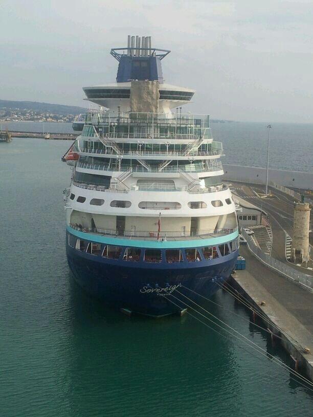 2013/10/30 Civitavecchia imbarco Costa Pacifica-uploadfromtaptalk1383154819123-jpg