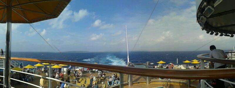 2013-11-05 Katakolon Costa Fascinosa-partenza-katakolon-diretta-nave-fascinosa-1-jpg