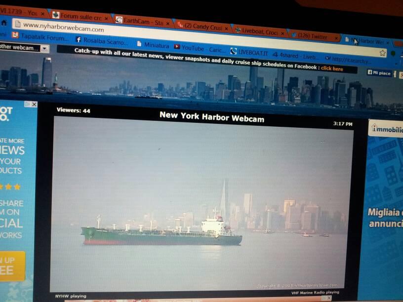 2013/12/01 - New York, Imbarco - Norwegian Breakaway-uploadfromtaptalk1385929162042-jpg