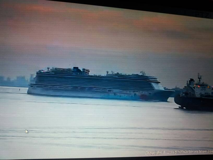 2013/12/01 - New York, Imbarco - Norwegian Breakaway-uploadfromtaptalk1385932002185-jpg