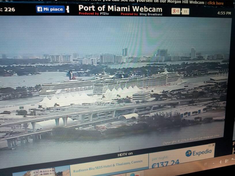 2013/12/28 partenza da Naples -> Miami per imbarco crociera-uploadfromtaptalk1388267977400-jpg
