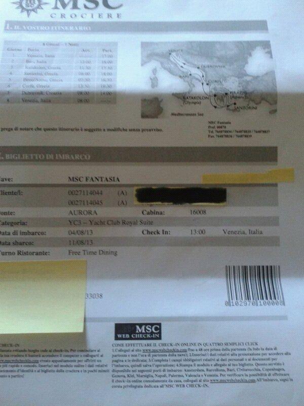 2013/08/04 MSC Fantasia   VENEZIA partenza-uploadfromtaptalk1375370760098-jpg