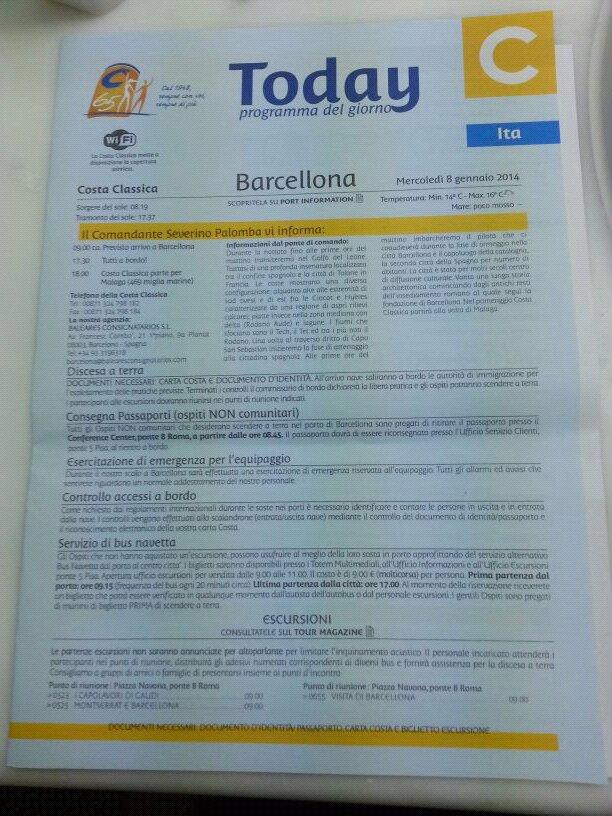 2014/01/08 - Barcellona - Costa Classica-uploadfromtaptalk1389169871825-jpg
