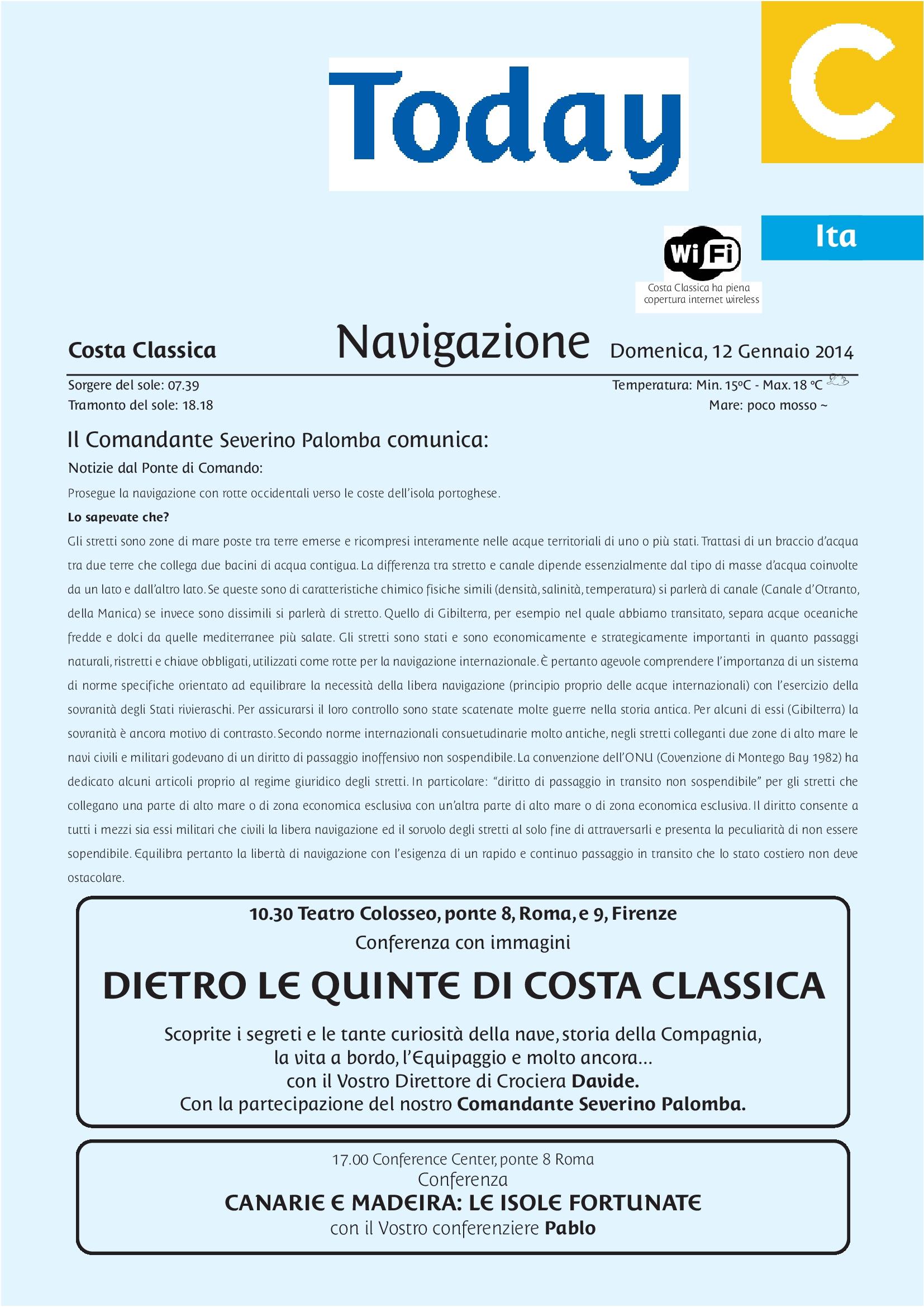2014/01/12 - Navigazione - Costa Classica-journal_94_q100_cit-it_p1_20140112-jpeg