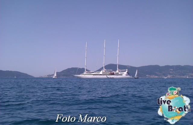 """2013/08/03 Veliero"""" Le Ponant """"di Compagnie du Ponent-21foto-liveboat-ponent-lerici-jpg"""