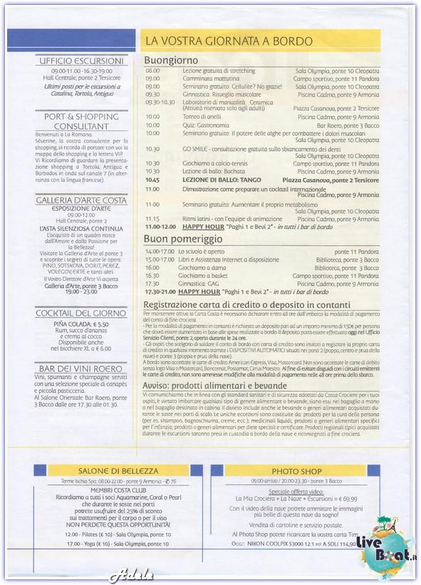 """""""Le Perle del caribe"""" Costa Mediterranea 30/01/11-06/02/11-today-laromana-leperledelcaribe-forumcrociereliveboat-2-jpg"""