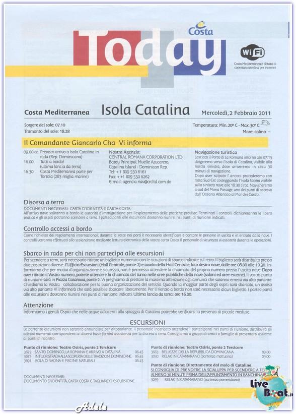 """""""Le Perle del caribe"""" Costa Mediterranea 30/01/11-06/02/11-today-isolacatalina-leperledelcaribe-forumcrociereliveboat-jpg"""
