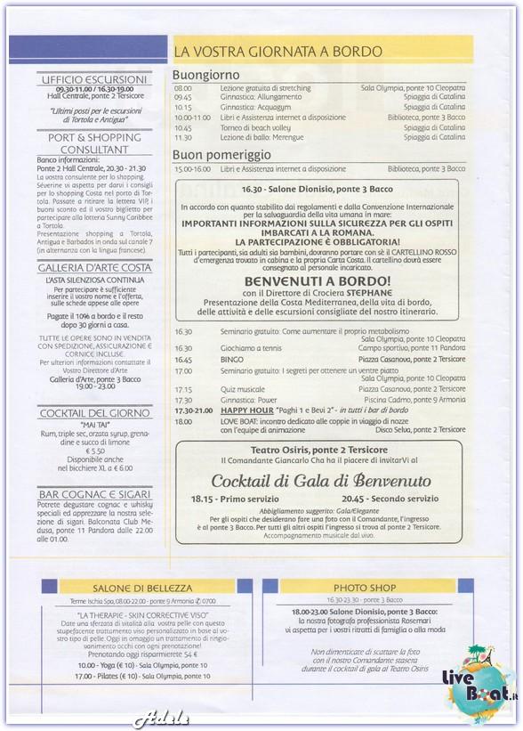 """""""Le Perle del caribe"""" Costa Mediterranea 30/01/11-06/02/11-today-isolacatalina-leperledelcaribe-forumcrociereliveboat-2-jpg"""
