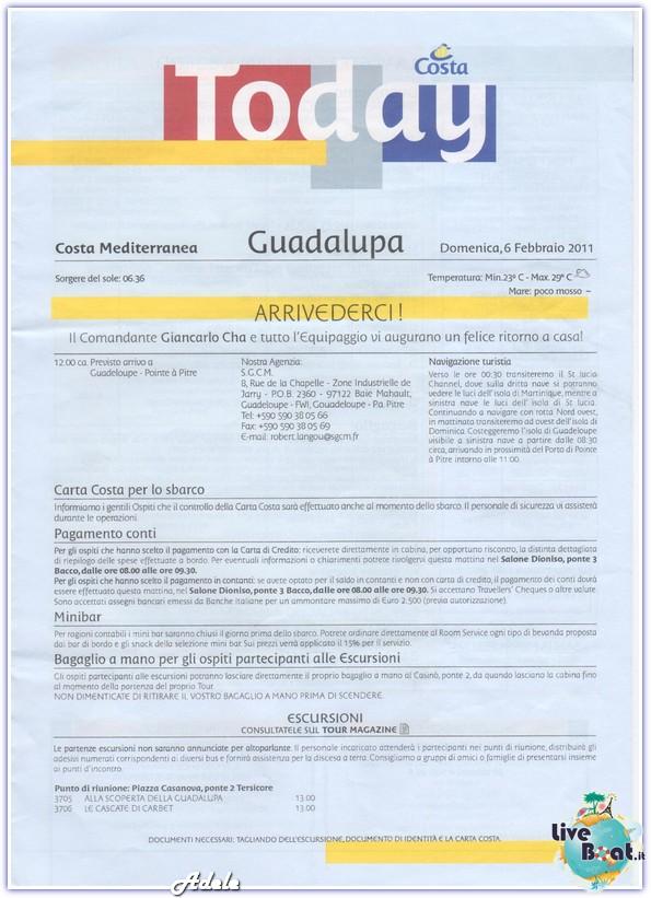 """""""Le Perle del caribe"""" Costa Mediterranea 30/01/11-06/02/11-today-sbarcoguadalupa-leperledelcaribe-forumcrociereliveboat-jpg"""