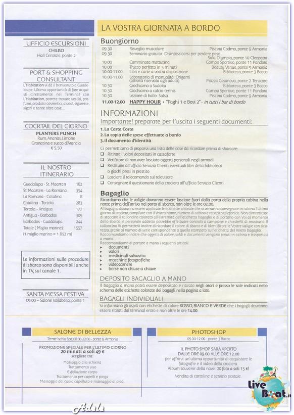 """""""Le Perle del caribe"""" Costa Mediterranea 30/01/11-06/02/11-today-sbarcoguadalupa-leperledelcaribe-forumcrociereliveboat-2-jpg"""