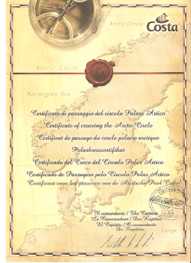 Costa Luminosa-Sole di Mezzanotte - 20 Luglio/1 Agosto 2010-certificato-png