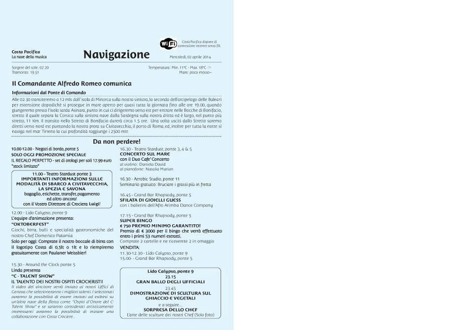 02/04/2014 Navigazione Costa Pacifica-uploadfromtaptalk1396451143971-jpg
