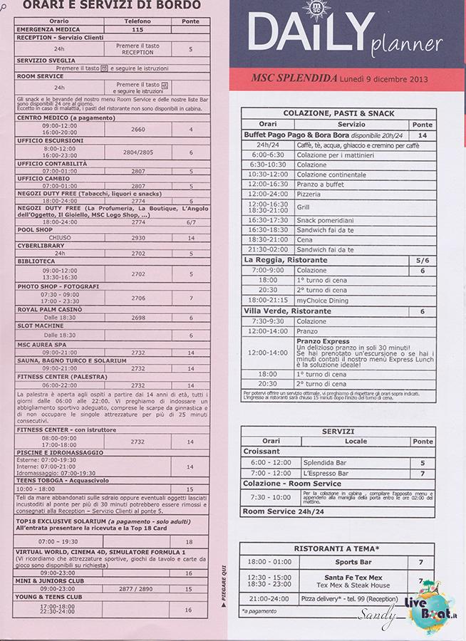 Msc SPLENDIDA - Med. Occidentale, 07/12/2013 - 14/12/2013-msc_splendida_daily_09-12-2013-03-jpg