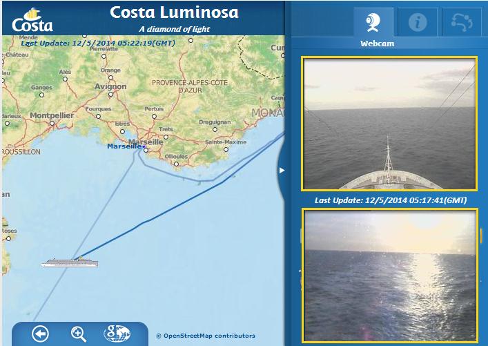 2014/05/12 - Barcellona Protagonisti del mare Costa Luminosa-lumi_webcam-png