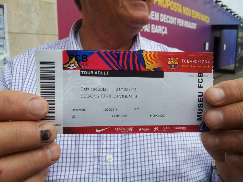 2014/05/12 - Barcellona Protagonisti del mare Costa Luminosa-uploadfromtaptalk1399905174580-jpg