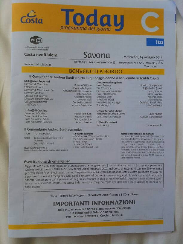 2014/05/14 - Savona (imbarco ) - Costa neoRiviera-uploadfromtaptalk1400078958426-jpg