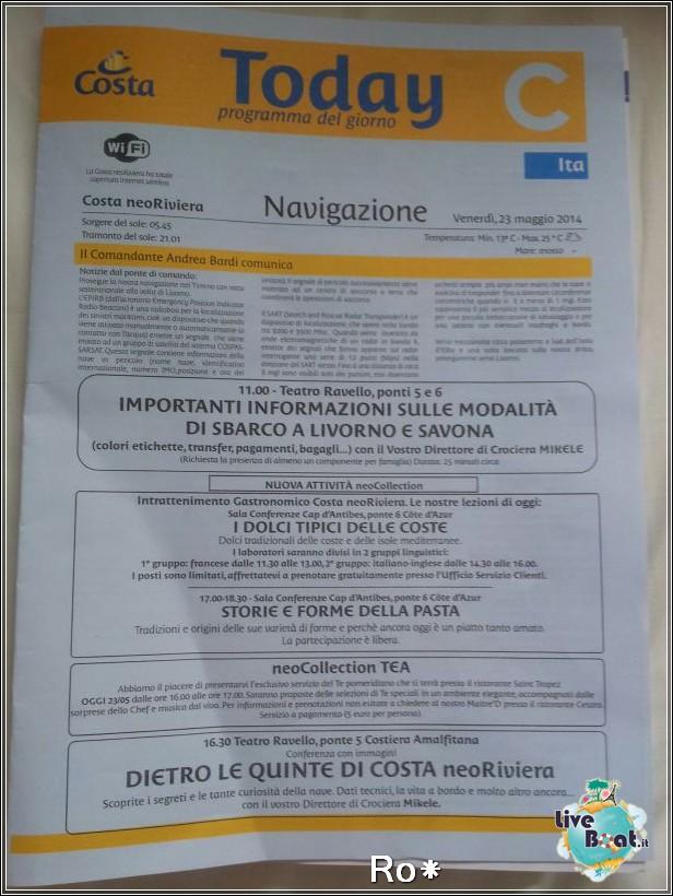 2014/05/23 - Navigazione - Costa neoRiviera-4costaneoriviera-costacrociere-direttaliveboatcrociere-jpg