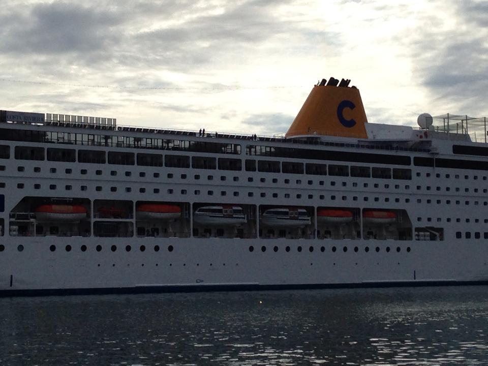 Porto di Portoferraio tutte le navi 2014-costa-neoriviera-portoferraio-marco-maffoni-4-jpg