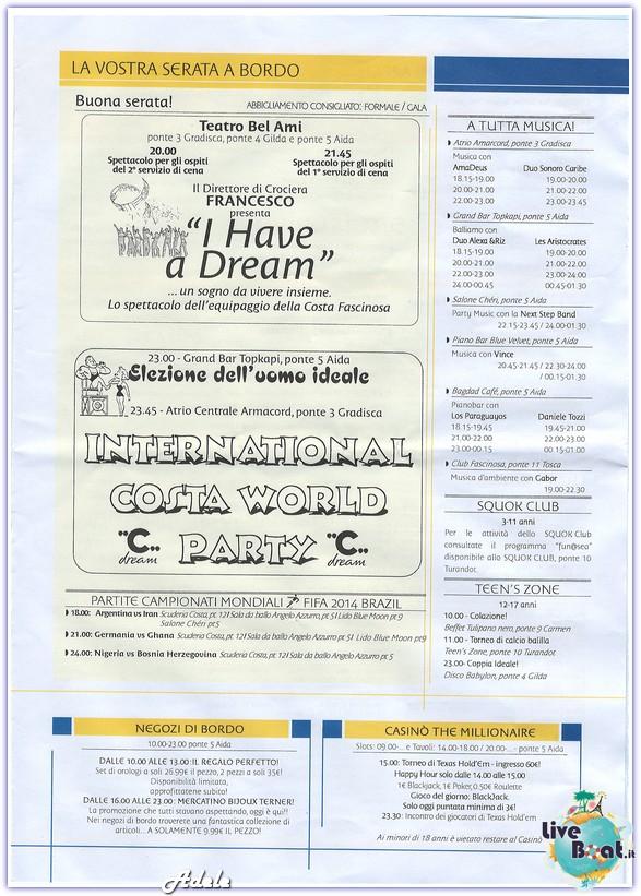 Costa Fascinosa - Grecia e Croazia 17-24/06/2014-navigazione2-jpg