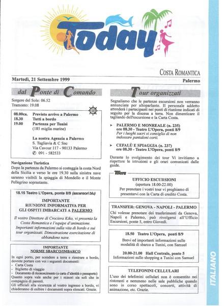 Costa Romantica - Tunisia Baleari Provenza - 19/26.09.1999-03-1-jpg