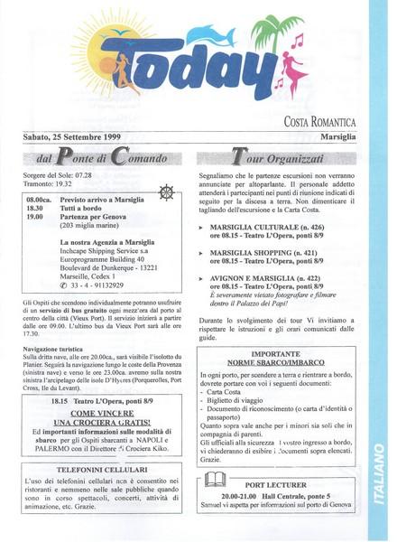 Costa Romantica - Tunisia Baleari Provenza - 19/26.09.1999-07-1-jpg
