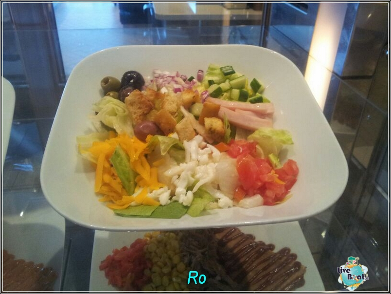 """Il ristorante """"Le Bistrot on five"""" di Celebrity Refleciton-foto-celebrityreflection-direttaliveboat-crociere-7-jpg"""
