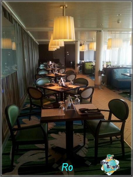 """Il ristorante """"Le Bistrot on five"""" di Celebrity Refleciton-foto-celebrityreflection-direttaliveboat-crociere-13-jpg"""